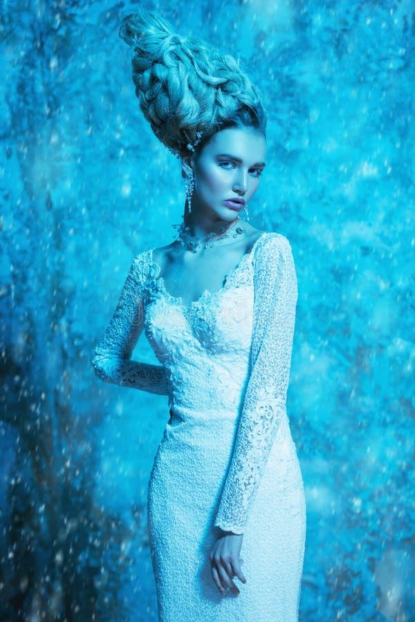De sneeuwkoningin royalty-vrije stock foto