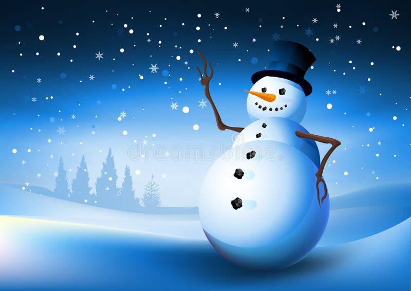 De Sneeuwman van de winter