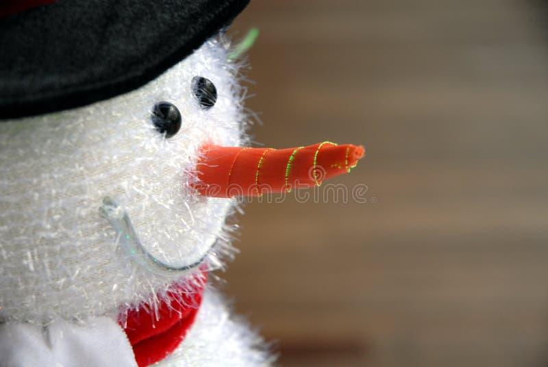 De sneeuwmandecoratie van Kerstmis stock afbeelding