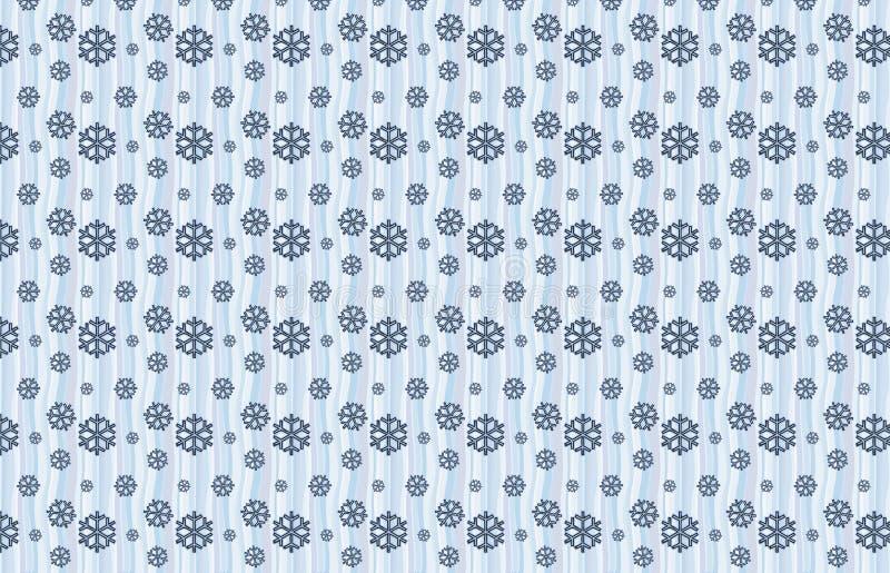 De Sneeuwpatroon Van De Winter Royalty-vrije Stock Foto's
