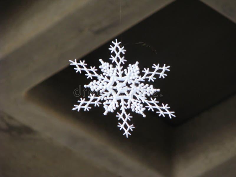 De Sneeuwvlok van het document royalty-vrije stock foto