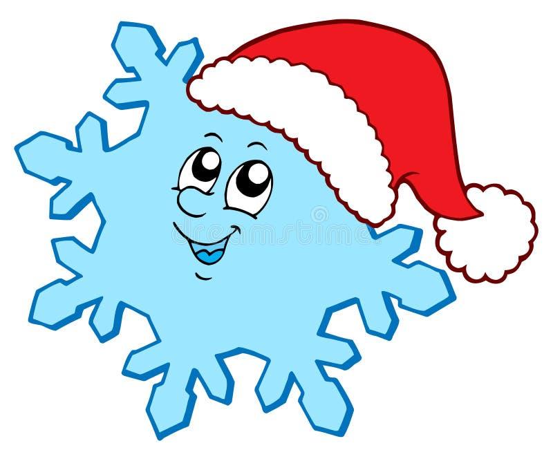 De sneeuwvlok van Kerstmis vector illustratie