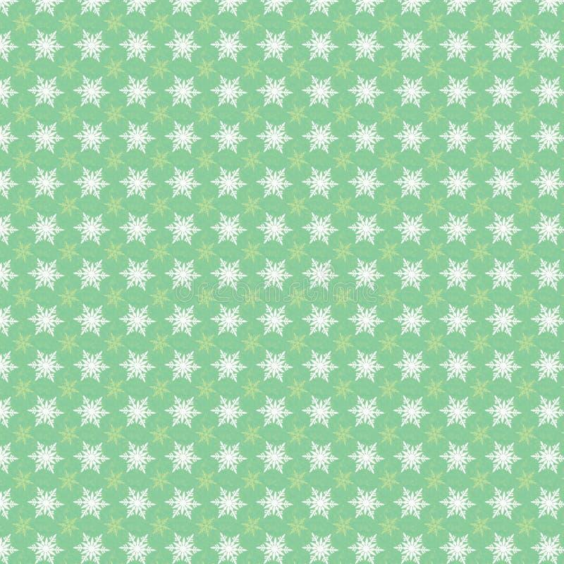 De sneeuwvlokkenachtergrond van Kerstmis stock afbeelding