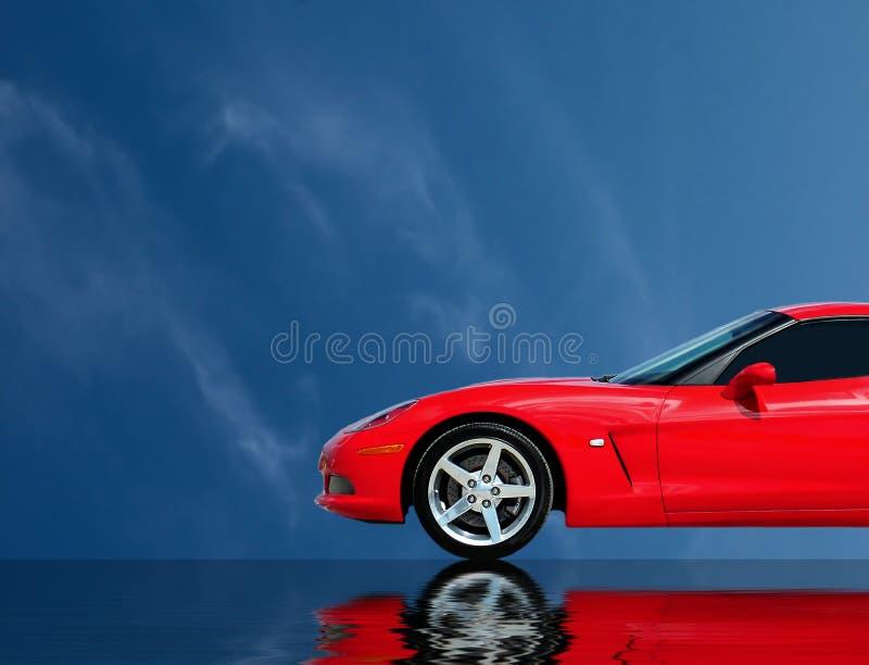 De snelle Inzameling van de Auto stock foto