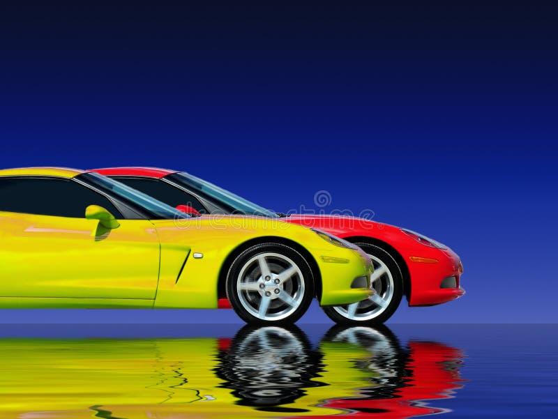 De snelle Inzameling van de Auto royalty-vrije stock afbeelding