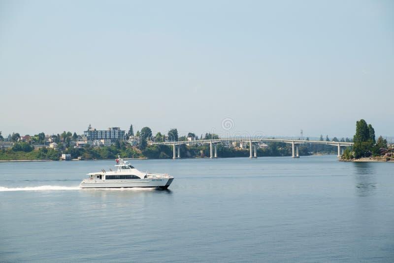 De Snelle Veerboot van de Kitsapdoorgang royalty-vrije stock foto