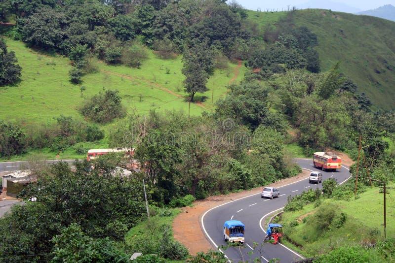 De snelweg van Bombay Pune royalty-vrije stock fotografie