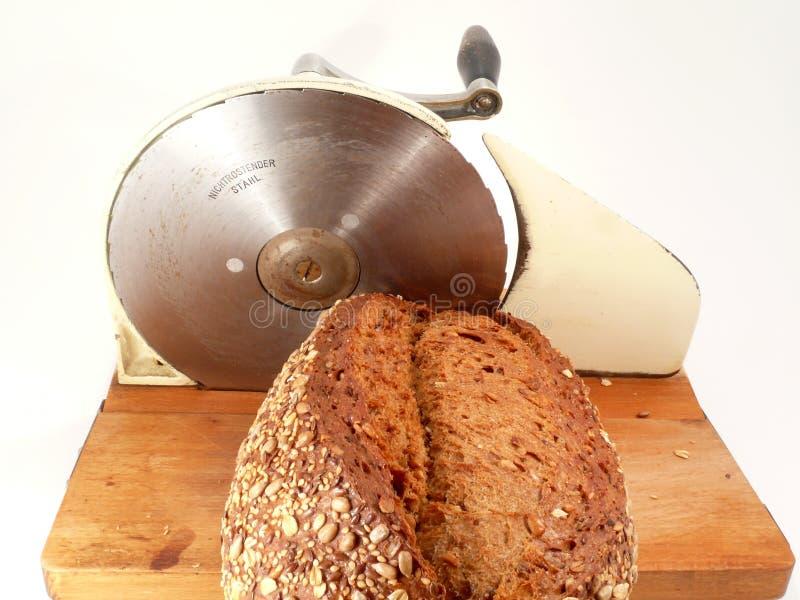 De snijder van het brood stock fotografie