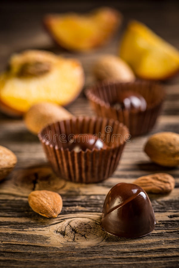 De snoepjes van de chocolade royalty-vrije stock foto's