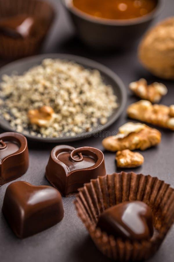 De snoepjes van de chocolade stock foto