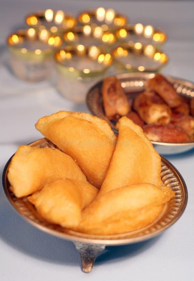 De snoepjes van Iftar royalty-vrije stock foto