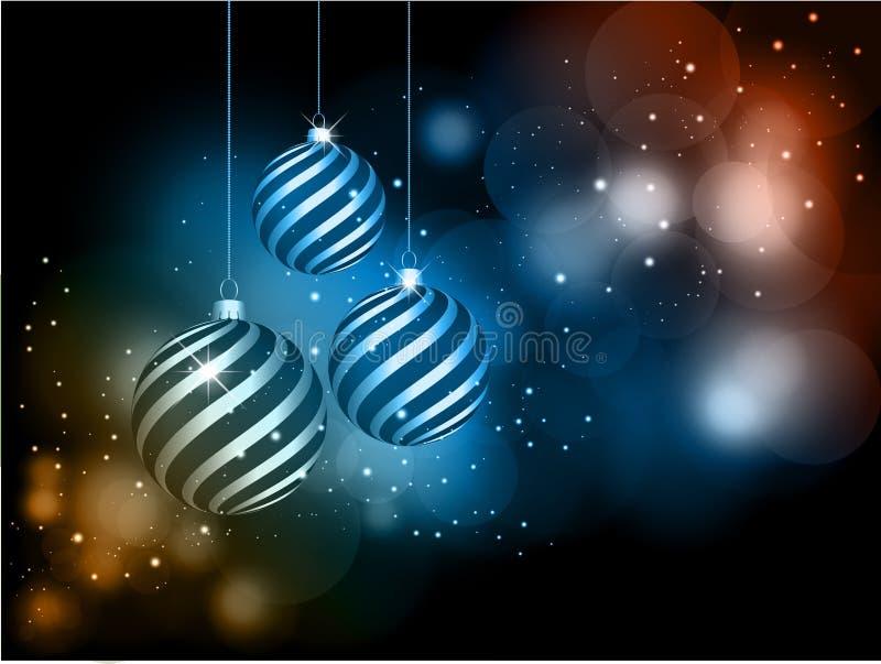 De snuisterijen van Kerstmis royalty-vrije illustratie