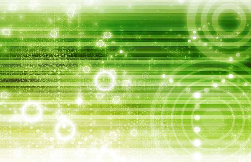 De sociale Kaart van het Voorzien van een netwerk royalty-vrije illustratie