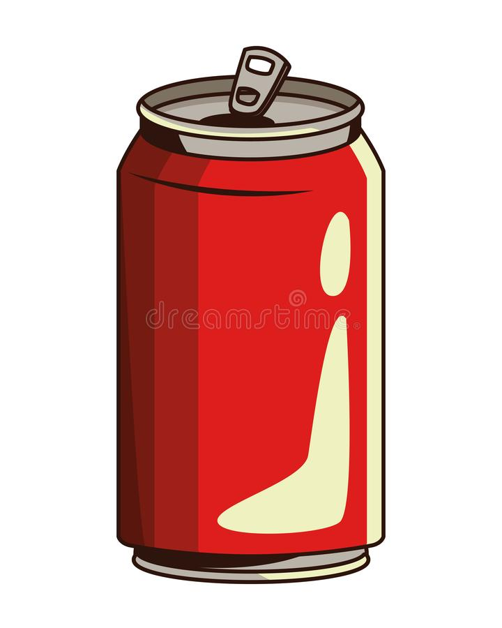 De soda kan pictogram royalty-vrije illustratie