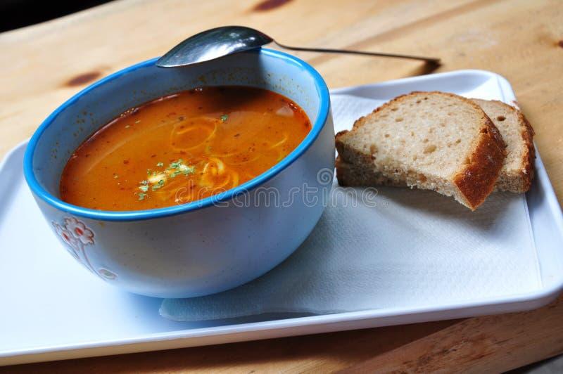 De soep van de linze royalty-vrije stock afbeelding