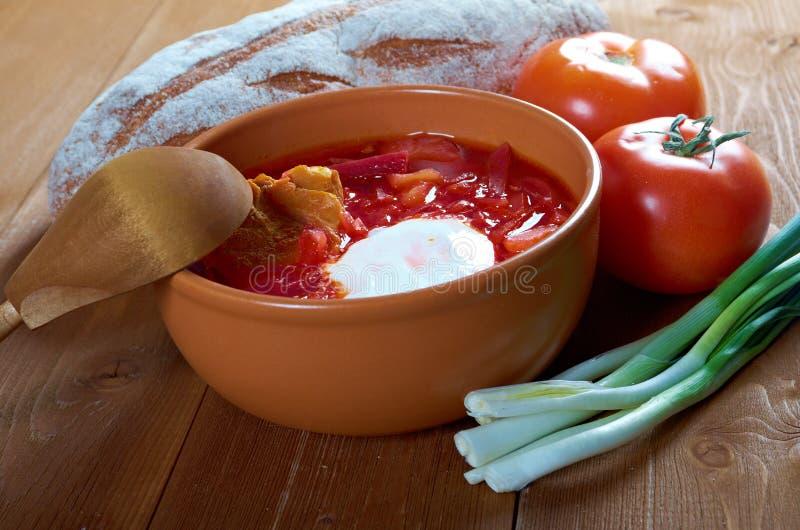 Download De Soep Van De Rood-biet (borscht) Stock Foto - Afbeelding bestaande uit keuken, vegetariër: 29514616
