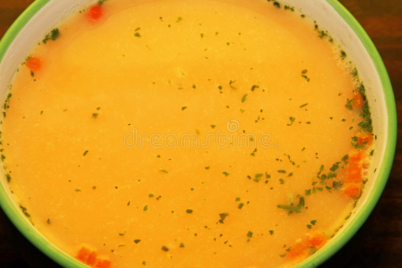 De soep van de wortel stock afbeeldingen