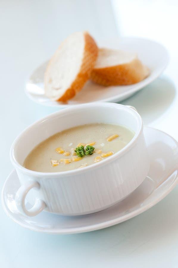 De soep van het graan royalty-vrije stock foto's