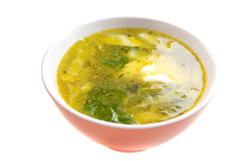 De soep van Turkije stock afbeeldingen