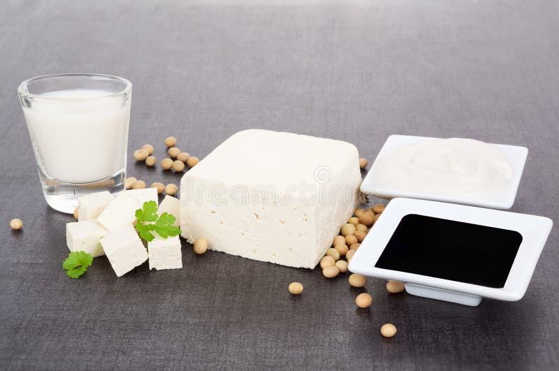 De soja de produits toujours durée. image stock