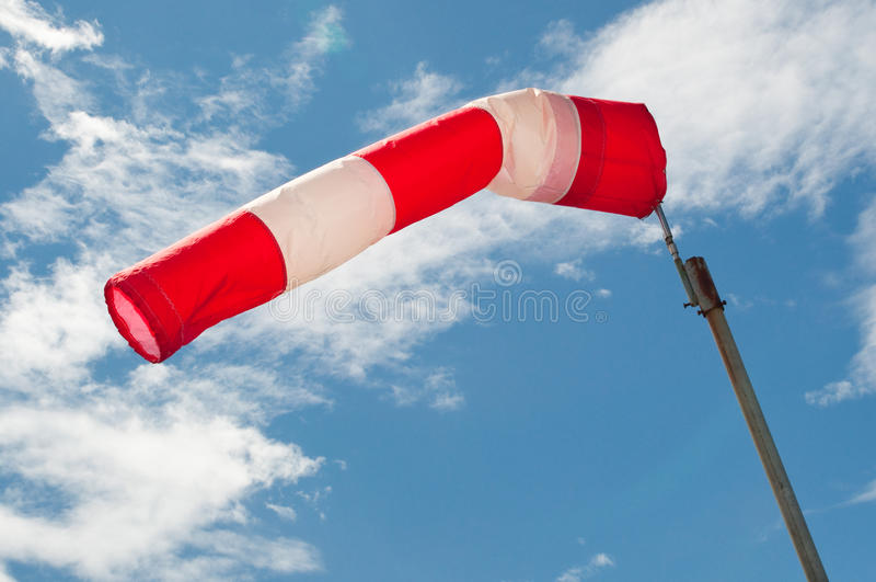 De sok van de wind royalty-vrije stock fotografie