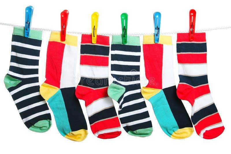 De sokken stock afbeeldingen