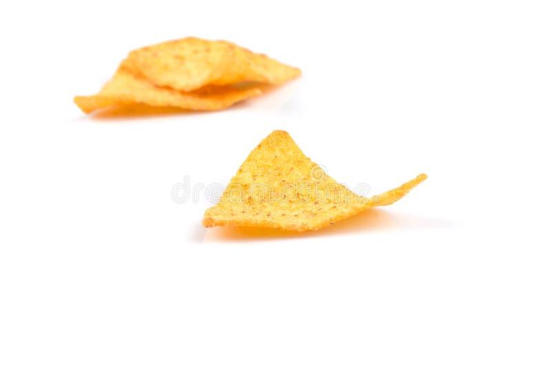 De spaanders van graannachos stock fotografie