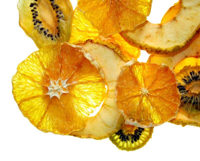 De spaanders van het fruit royalty-vrije stock afbeeldingen