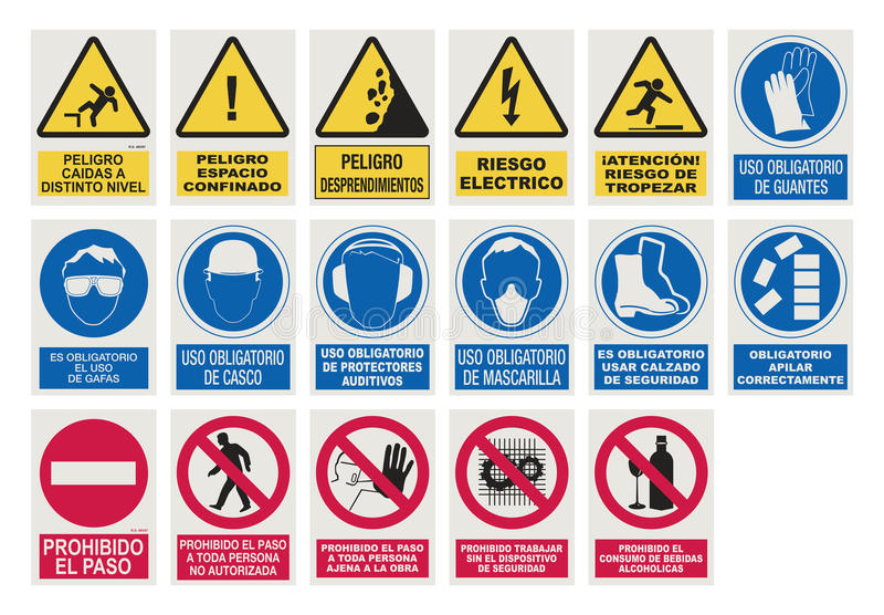 De Spaanse openbare werken zingen vector illustratie