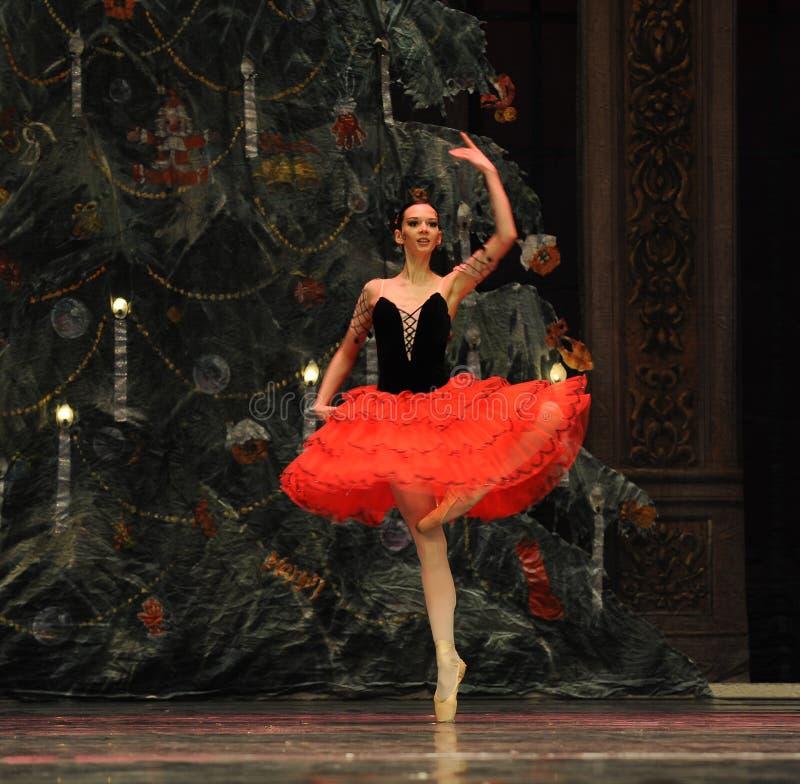 De Spaanse Prinses het het suikergoedkoninkrijk van het tweede handelings tweede gebied - de Balletnotekraker royalty-vrije stock fotografie
