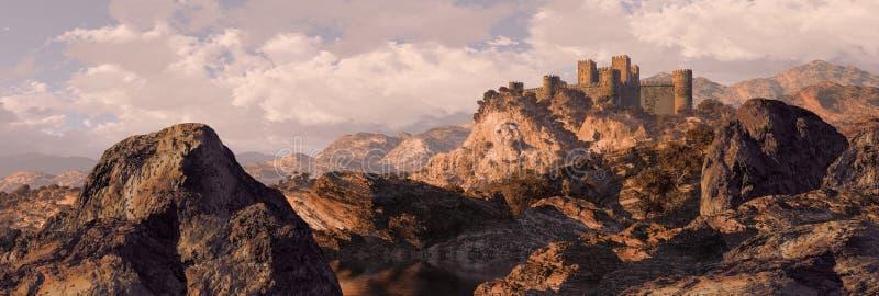 De Spaanse Vesting van het Kasteel royalty-vrije stock fotografie