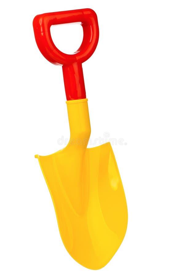De spade van het stuk speelgoed stock fotografie