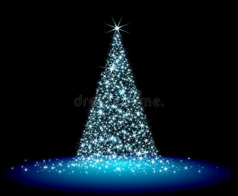 De spar van Kerstmis royalty-vrije illustratie
