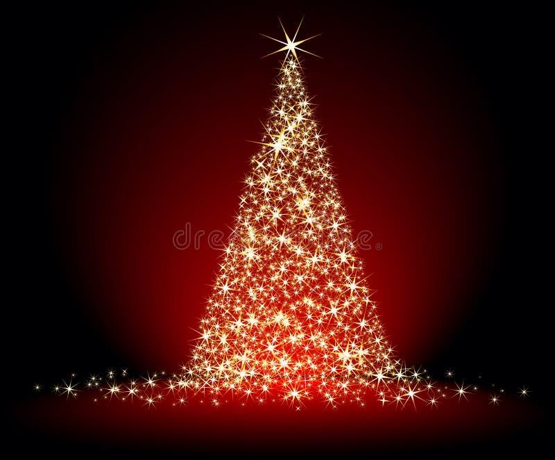 De spar van Kerstmis stock illustratie