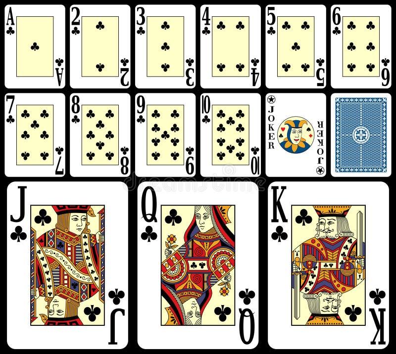 De Speelkaarten van het blackjack [3] royalty-vrije illustratie