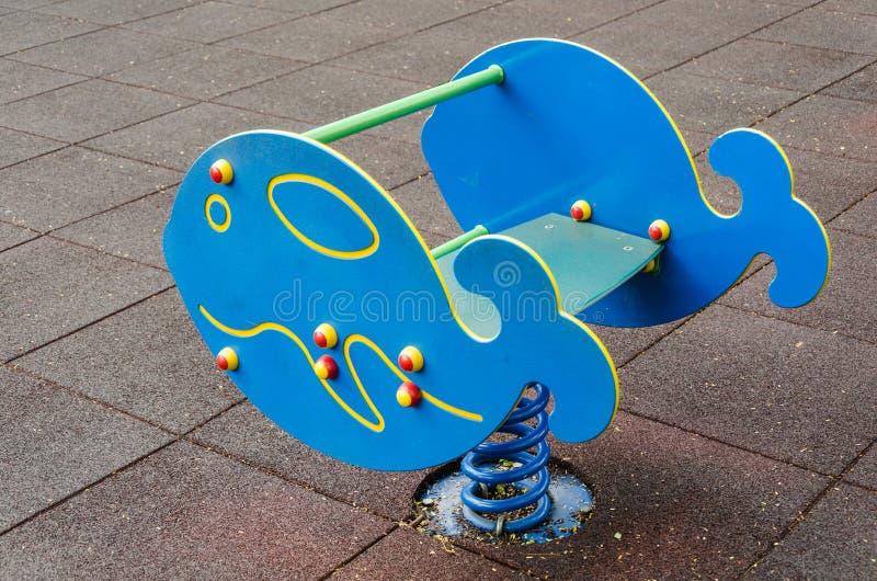 De Speelplaats van kinderen royalty-vrije stock afbeeldingen