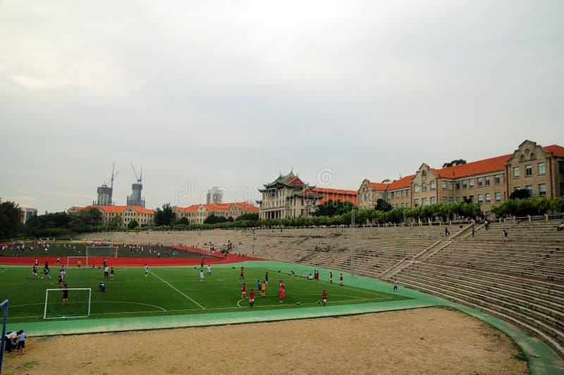 De speelplaats van Xiamen-Universiteit royalty-vrije stock foto's