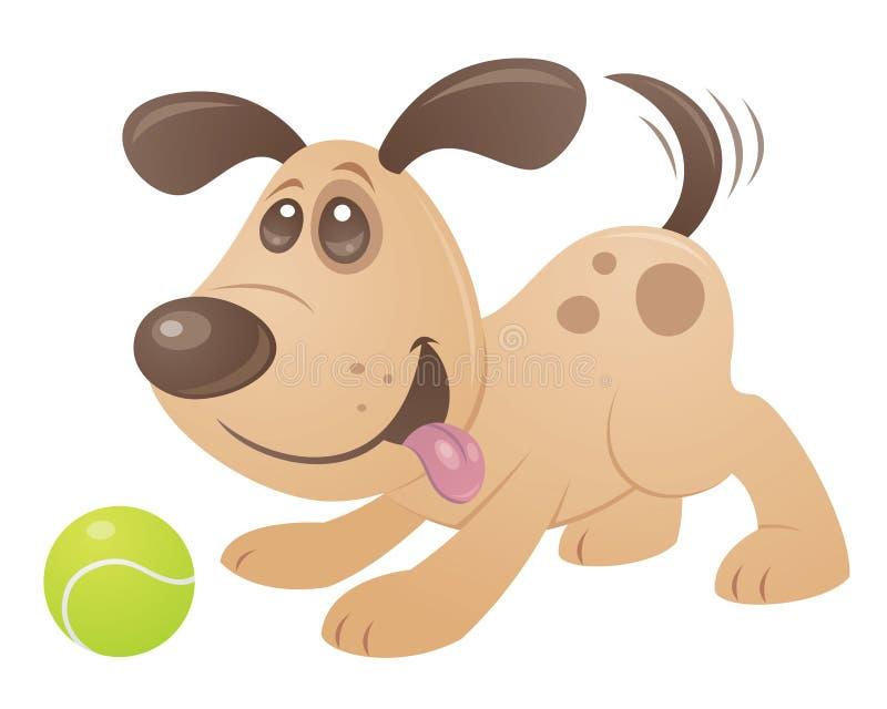 De speelse Hond van het Puppy vector illustratie