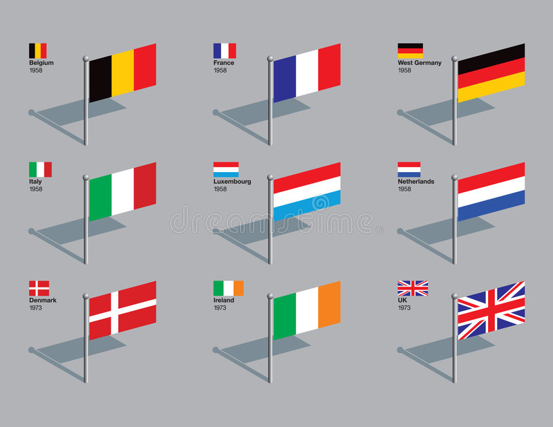 De Spelden van de vlag - de EU 1958 - 1973