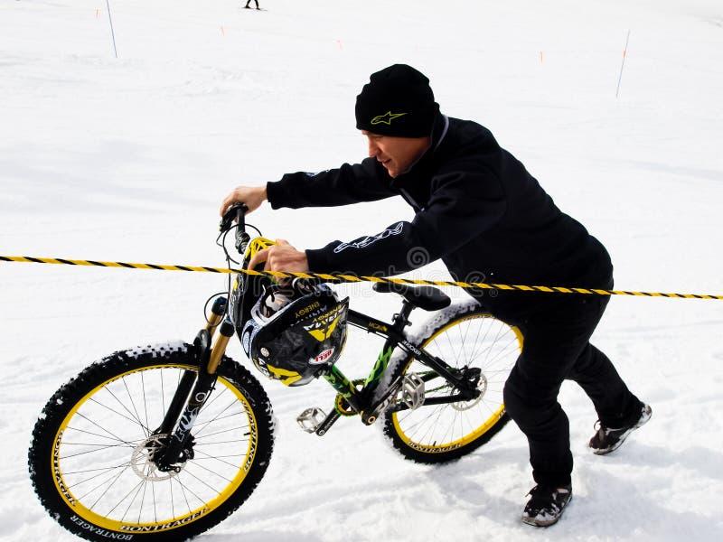 De Spelen Mointain van de winter TEVA stock afbeelding