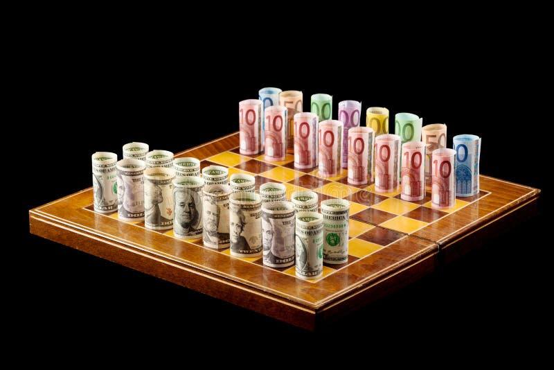 De spelenconcept van het geld royalty-vrije stock afbeelding