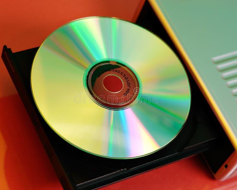 De speler van CD royalty-vrije stock fotografie