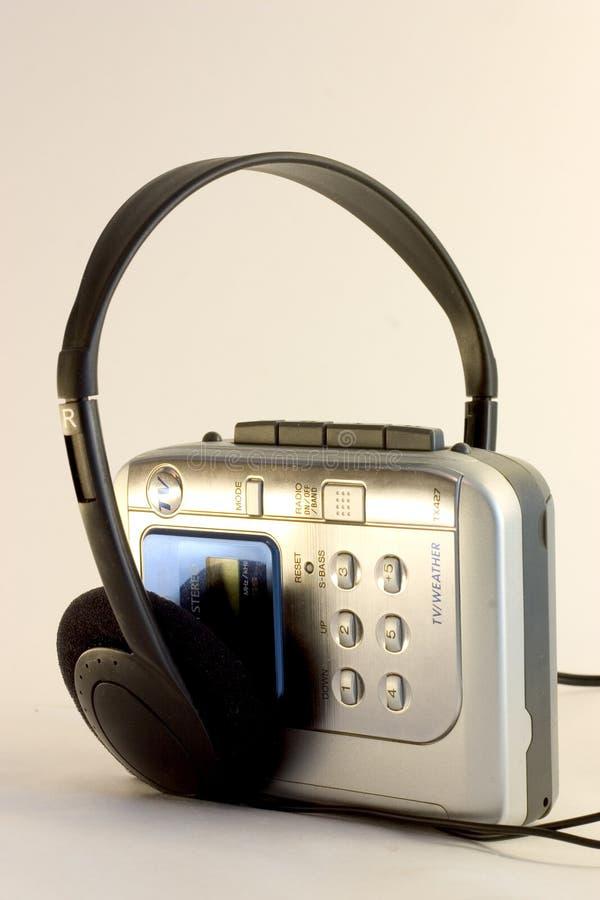 De Speler Van De Cassette Royalty-vrije Stock Afbeeldingen