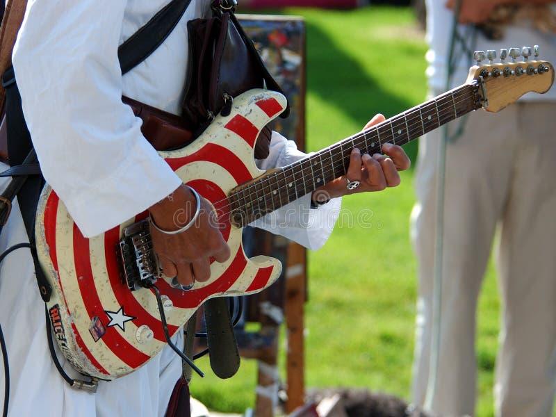 De Speler van de gitaar royalty-vrije stock afbeelding