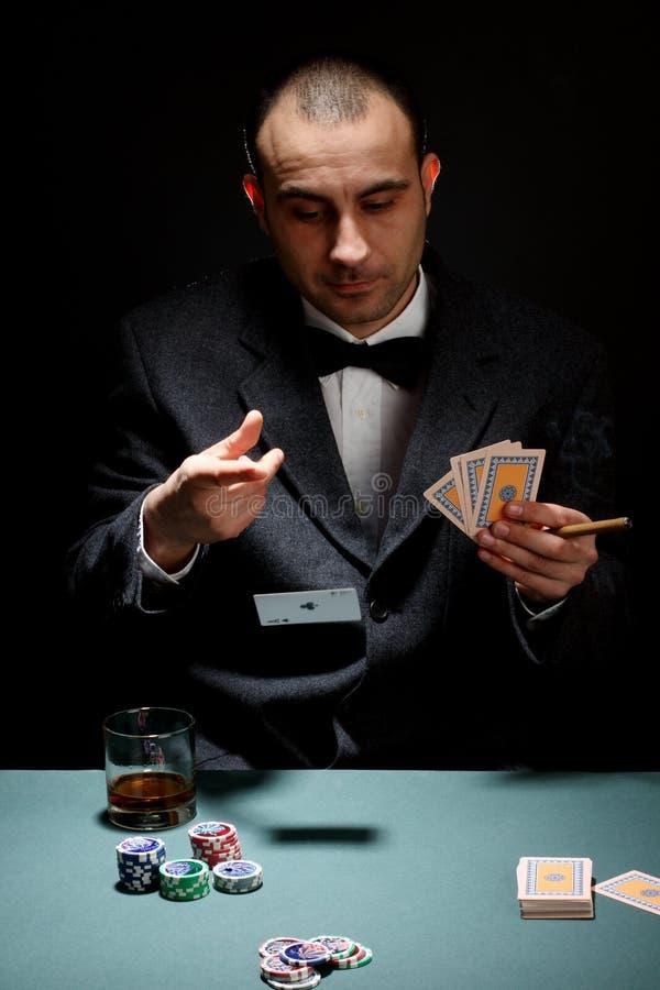 De speler van de pook royalty-vrije stock afbeeldingen