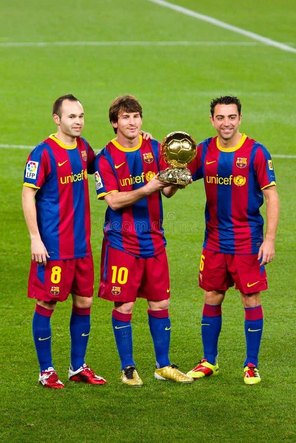 De Speler van de Wereld van FIFA van Messi royalty-vrije stock afbeelding