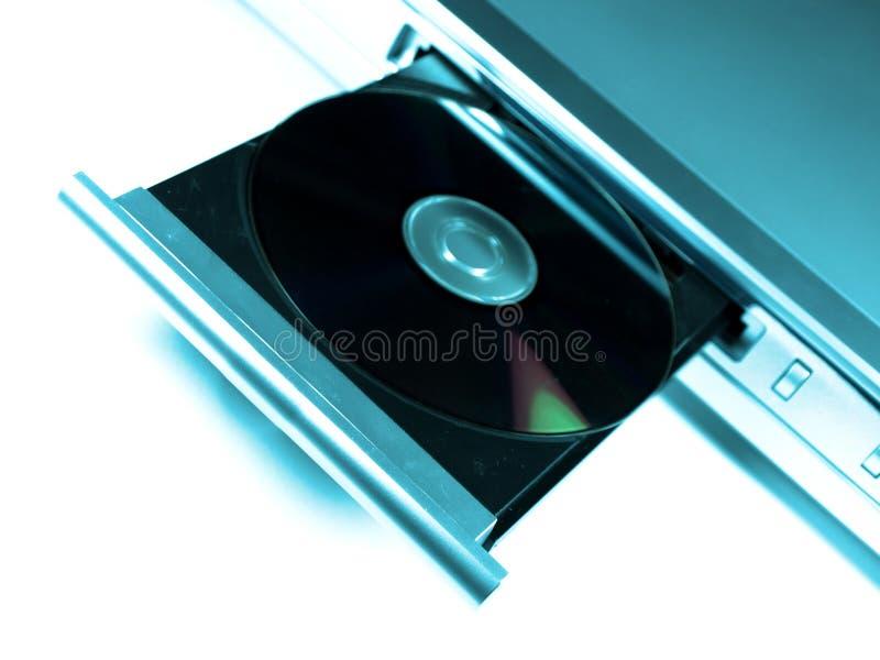 De speler van Dvd royalty-vrije stock afbeeldingen
