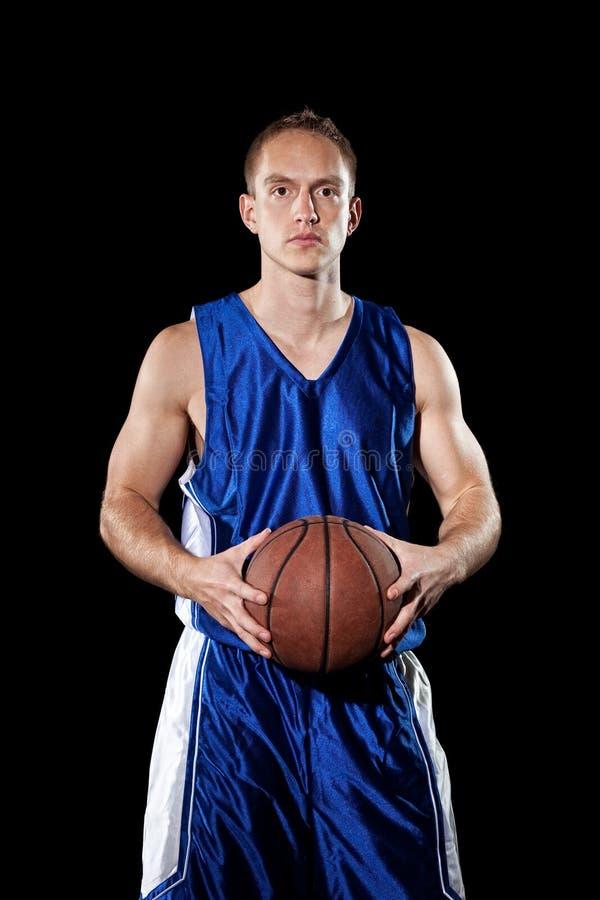 De Speler van het basketbal royalty-vrije stock foto's