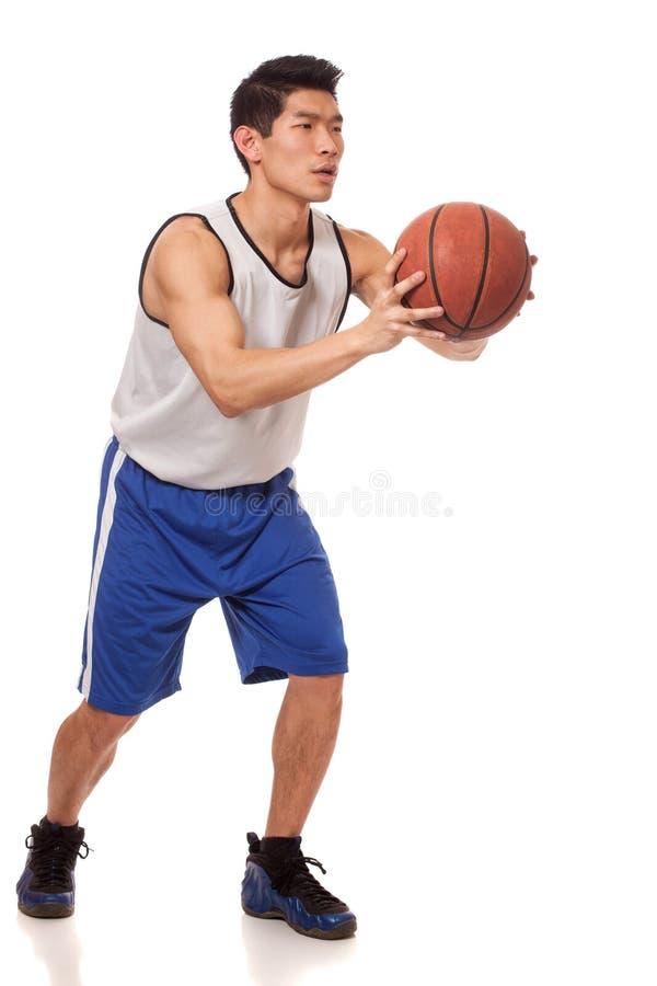 De Speler van het basketbal