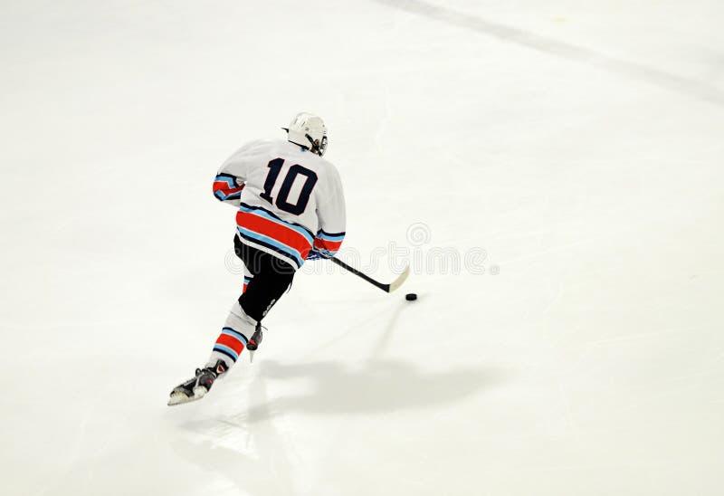 De speler van het ijshockey stock afbeeldingen